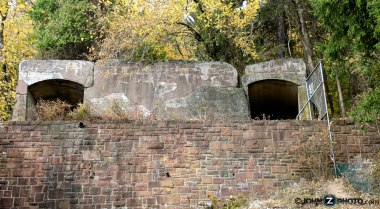 Photo of tunnels in Nyack Beach State park
