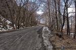 Road Near Rockland Lake New York