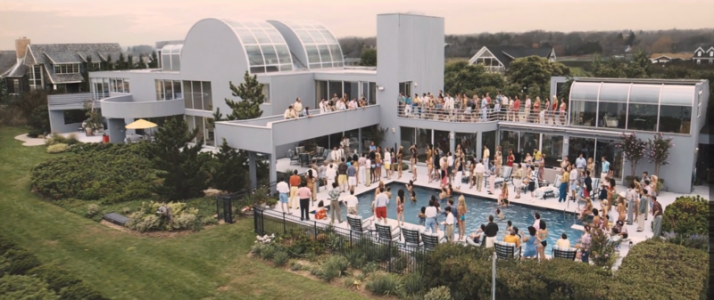 Wolf of Wall Street Hamptons House