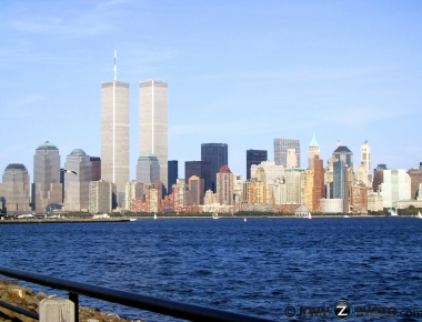 Twin Tower photo two days before the attacks
